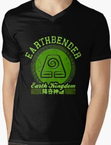 Earthbender Mens V-Neck T-Shirt