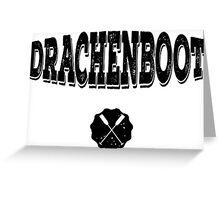 Drachenboot Greeting Card