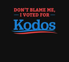 Don't Blame Me I Voted For Kodos Unisex T-Shirt