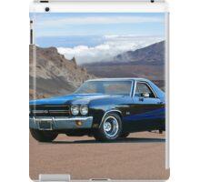1970 Chevrolet El Camino SS iPad Case/Skin