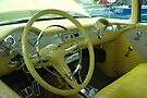 Steering Wheel & Dash  '55 Chevy Bel Air  by Wviolet28
