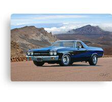 1970 Chevrolet El Camino SS Canvas Print