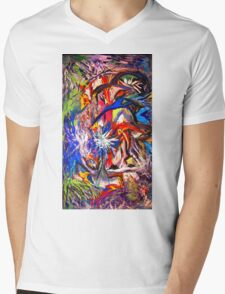 Hidden Glade by Darryl Kravitz Mens V-Neck T-Shirt