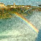 Rainbow Bridge 2, Niagara Falls, New York by Expressions &  Reflections by Shellie Hill