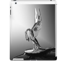 Packard Hood Ornament 'Swan Song' iPad Case/Skin