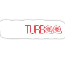 TWIN TURBO (1) Sticker
