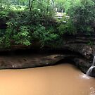 Upper Falls, Old Man's Cave, Hocking Hills by Expressions &  Reflections by Shellie Hill
