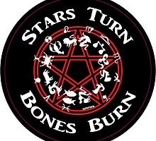 Stars Turn Bones Burn by miked777