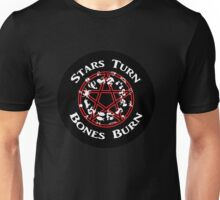 Stars Turn Bones Burn Unisex T-Shirt