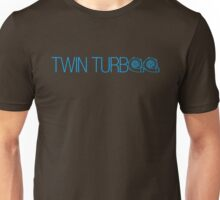 TWIN TURBO (2) Unisex T-Shirt