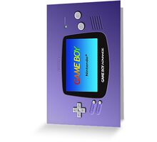 Game Boy Advance Greeting Card