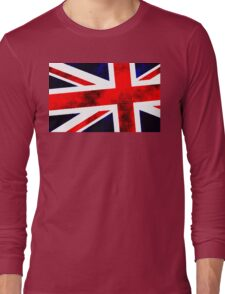 Union Jack A Long Sleeve T-Shirt