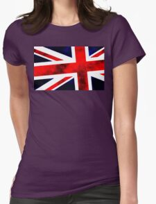 Union Jack A Womens Fitted T-Shirt