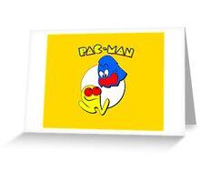Pac-Man Ghost Original  Greeting Card