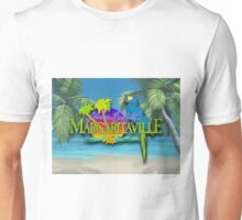 margaritaville 3D album cover animation design KLUWER Unisex T-Shirt