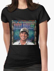 jimmy buffet -meet me in margaritaville KLUWER Womens Fitted T-Shirt