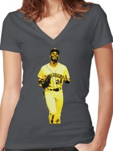 The Kid Women's Fitted V-Neck T-Shirt