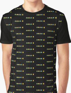 Pac-Man v Teenage Mutant Ninja Turtles Graphic T-Shirt