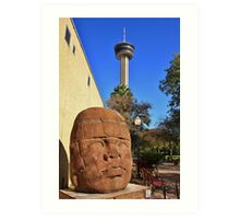 San Antonio, Tower of the Americas Art Print