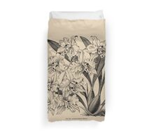 Winter Orchid Duvet Cover