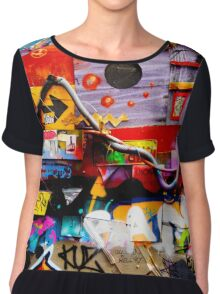 found objects at hosier lane  Chiffon Top