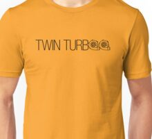 TWIN TURBO (4) Unisex T-Shirt