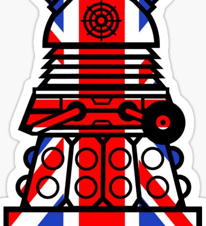 Dr Who - Jack Dalek Sticker