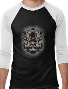 Rorschach Octopus Men's Baseball ¾ T-Shirt
