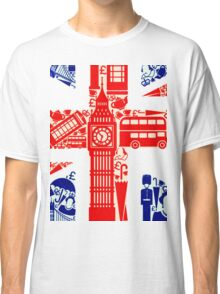 Landmark and Flag 2 Classic T-Shirt