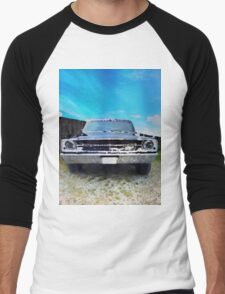 vintage car aquarell Men's Baseball ¾ T-Shirt