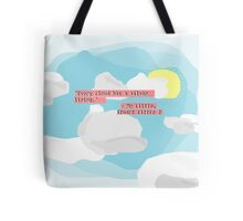 Mr. Little Knows Best Tote Bag