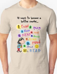 Better Reader T-Shirt