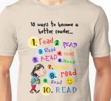 Better Reader Unisex T-Shirt