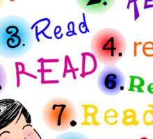 Better Reader Sticker