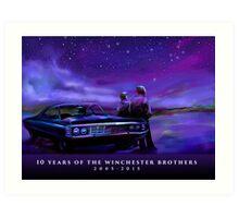 Impala Nights Art Print