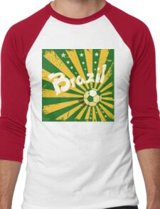 Ola Brazil 578 Men's Baseball ¾ T-Shirt