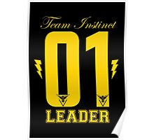 Team Instinct Leader Poster