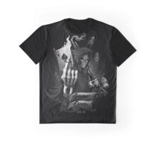 Skull - Game over !! Graphic T-Shirt
