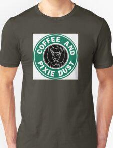 Faith Trust and Caffeine Unisex T-Shirt