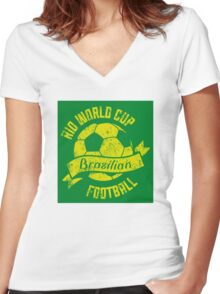 Rio Women's Fitted V-Neck T-Shirt