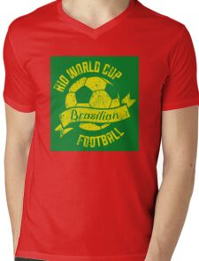 Rio 578 Mens V-Neck T-Shirt