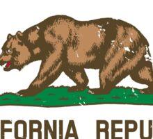 California Flag - Local - Grown Not Flown Sticker