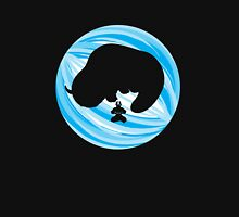 Aang and Appa in Ice Unisex T-Shirt