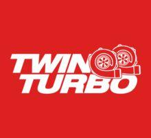 TWIN TURBO (7) Kids Tee