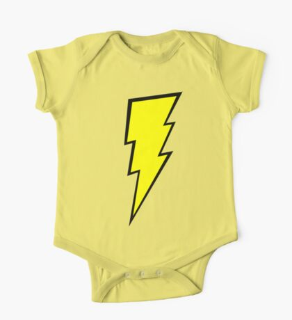 Lightning Bolt  One Piece - Short Sleeve