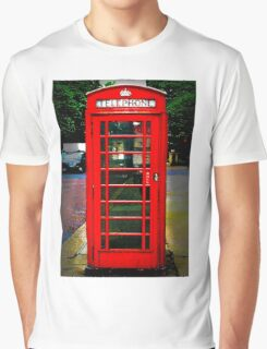 Phone Box Cover red Graphic T-Shirt