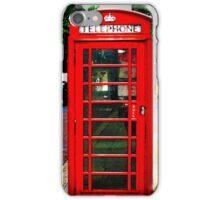 Phone Box Cover red iPhone Case/Skin