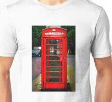 Phone Box Cover red Unisex T-Shirt