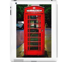 Phone Box Cover red iPad Case/Skin