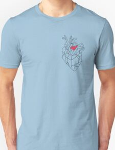 Geometric Heart Unisex T-Shirt